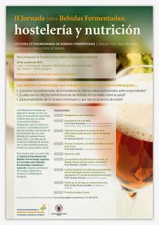 II Jornada sobre Bebidas Fermentadas: hostelería y nutrición (martes, 29)