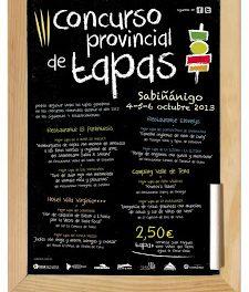 Concurso provincial de tapas de Huesca (del 4 al 6 de octubre)