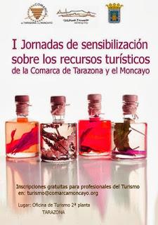 I Jornadas de sensibilización sobre recursos turísticos de la Comarca de Tarazona y el Moncayo (lunes, 14)