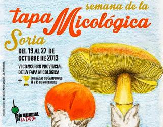 Semana de la Tapa Micológica de Soria (del 19 al 27)