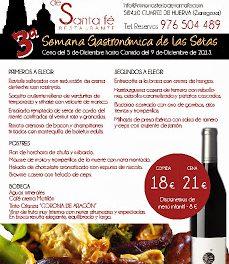 Semana gastronómica de las setas (del 5 al 9 de diciembre)