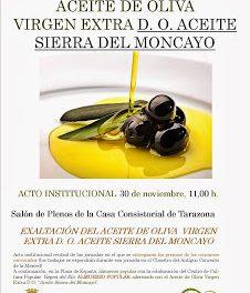 Jornada del aceite de oliva DOP Sierra de Moncayo (sábado, 30)