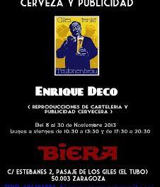 Exposición cerveza y publicidad (Del 8 al 30)