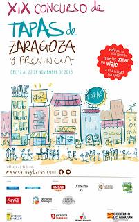 XIX Concurso de tapas de Zaragoza y provincia (del 12 al 22 de noviembre)
