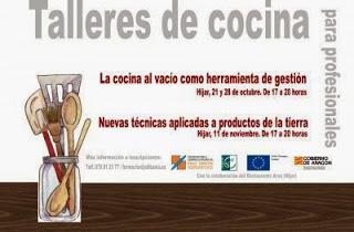 Curso de técnicas de cocina para hosteleros (lunes, 11 de noviembre)