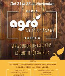 Feria agroalimentaria de Huesca (del 21 al 23)