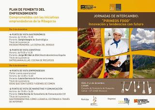 Jornadas Pirineos Food (2 y 4 de diciembre)