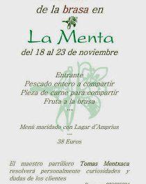 Semana de la brasa (del 18 al 23 de noviembre)