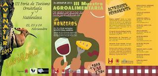 III Muestra agroalimentaria (días 22 a 24 de noviembre)