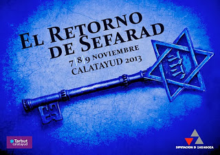 II Jornadas El retorno de Sefarad a Calatayud 2013 (del 7 al 9)
