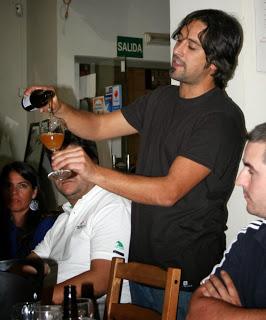 Cata maridada de cervezas artesanas (jueves, 28)