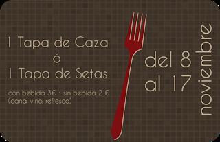 I Jornadas gastronómicas de la caza y las setas en el Alto Gállego (hasta el 17 de noviembre)