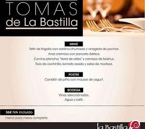 Nuevas Tomas de La Bastilla (hasta final de año)