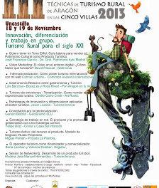III Jornadas técnicas de turismo rural de Aragón en las Cinco Villas (días 18 y 19)