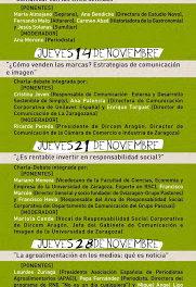 Jornadas Verde que te quiero verde (jueves de noviembre)