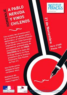 Degustación de vinos chilenos (jueves, 21)