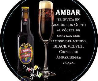 Coctel de cerveza en ARAGÓN CON GUSTO (hasta el 10 de noviembre)