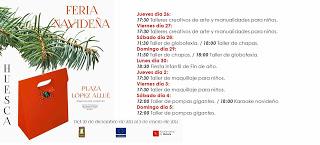 Feria Navideña de Huesca (hasta el 5 de enero)