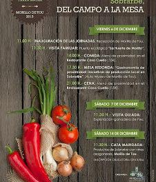 Jornadas gastronómicas (del 6 al 14 de diciembre)