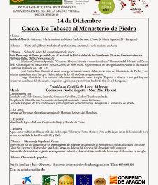 Saboreando el cacao en Aragón (sábado, 14 de diciembre)