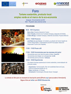 Foro – Turismo sostenible (miércoles, 18)
