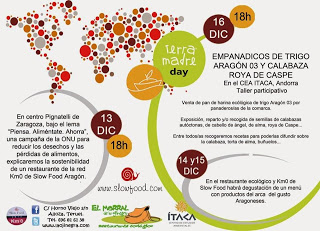Terra Madre Day (lunes, 16)