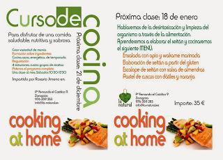 Curso de cocina (sábado,18)