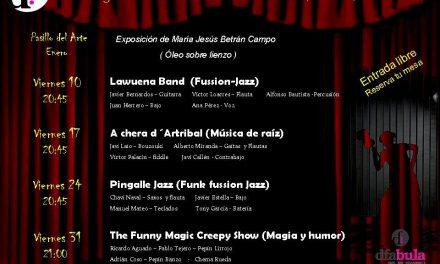 Cena y música (viernes, 31)