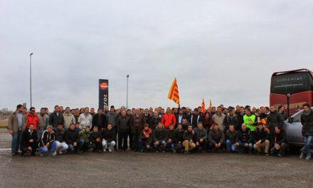 Concentracion en Zaragoza contra la reforma de la PAC y contra los recortes, por UAGA (lunes, 20)