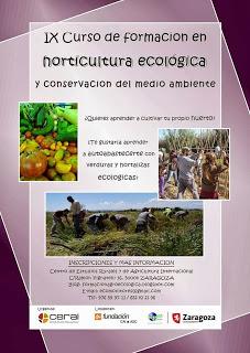 Curso de horticultura ecológica (febrero)