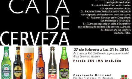 Cata de cervezas Heineken (jueves, 27)