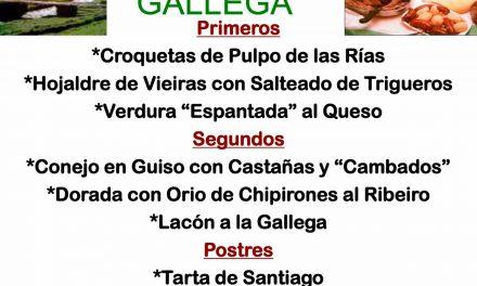 Semana de la cocina gallega (del 24 de febrero al 1 de marzo)