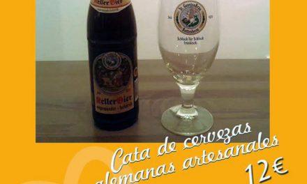 Cata de cerveza artesana (jueves, 27)