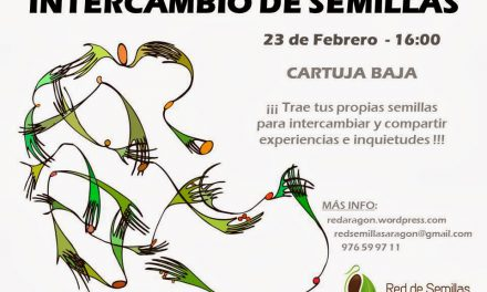 Intercambio de semillas (domingo, 23)
