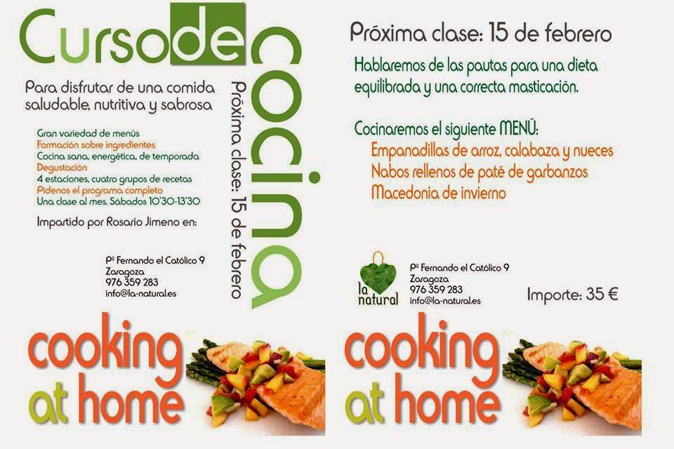 Curso de cocina (sábado,15)