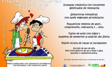 Cena de san Valentín (viernes, 14)