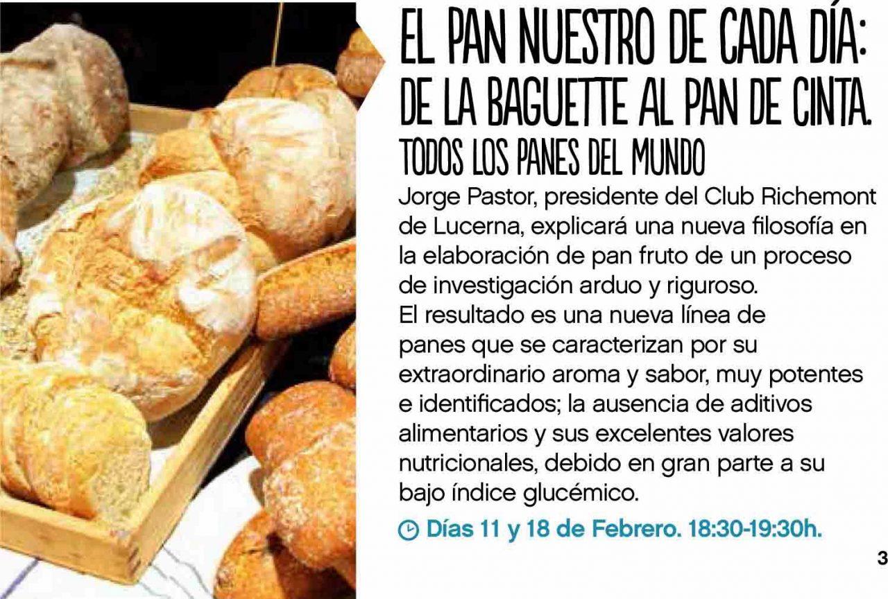Taller de pan en Saborea Puerto Venecia 2014 (11 y 18 de febrero)