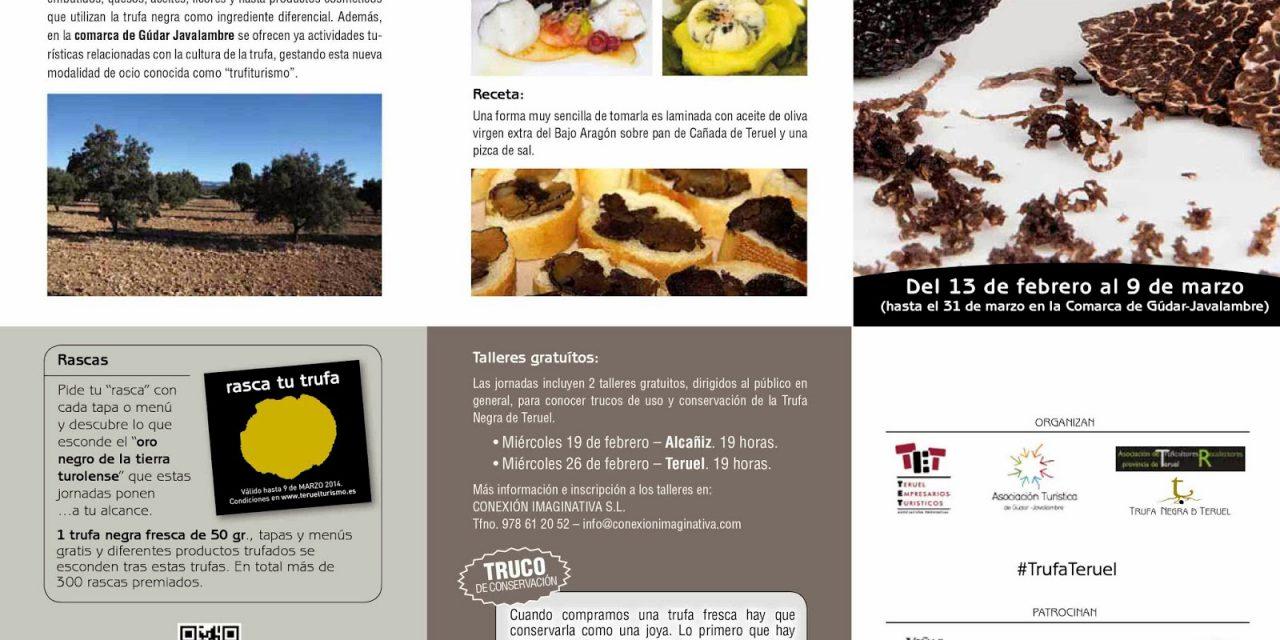 Jornadas gastronómicas de la trufa de Teruel (del 13 de febrero al 9 de marzo)