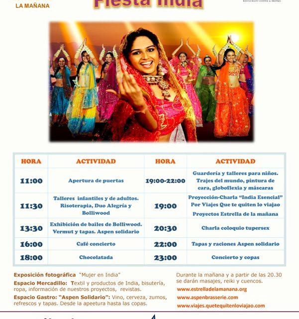Carnaval solidario con la India (sábado, 1)
