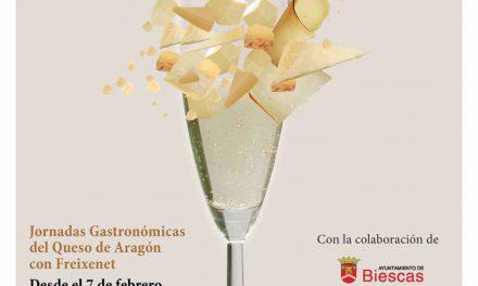 Jornadas gastronómicas del queso de Aragón con Freixenet (febrero)
