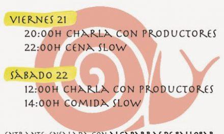 Jornadas Slow Food en el Bikor (viernes y sábado, 21 y 22)