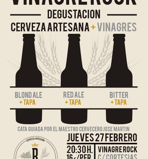 Degustación de cerveza y vinagrillos (jueves, 27)