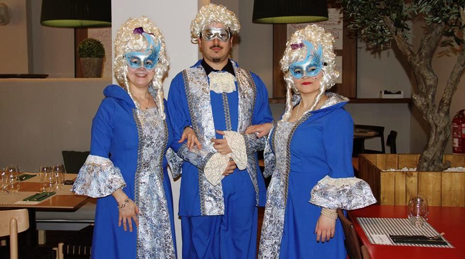 Menú degustación de Carnaval en La Bocca (marzo)
