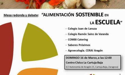 Mesa redonda sobre alimentación sostenible en la escuela (domingo, 16)
