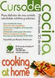 Curso de cocina vegetariana (sábado, 15)