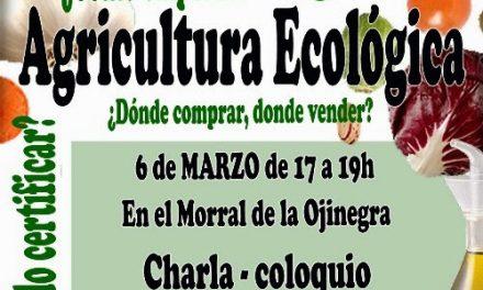 Charla sobre la agricultura ecológica (jueves, 6)