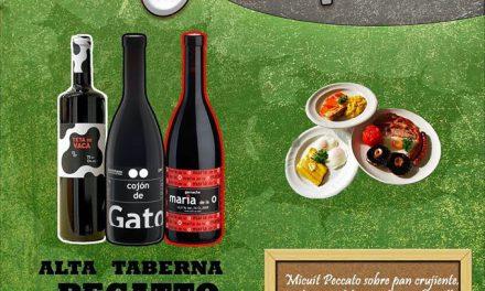 Cata de vinos divertidos en Peccato (miércoles, 26)