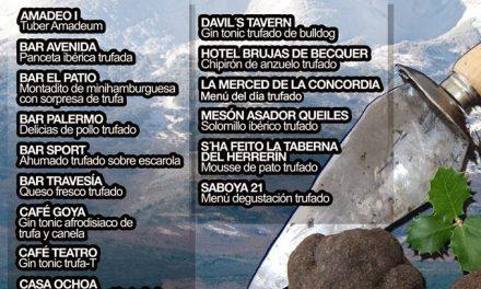 Jornada de la tapa trufada en Tarazona (días 8 y 9 de marzo)