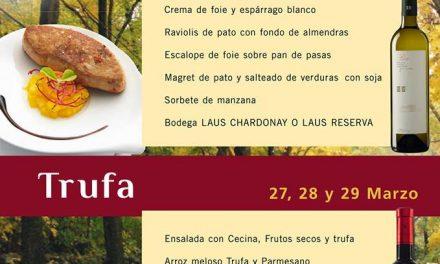 Jornadas gastronómicas, pato y trufa (del 20 al 22 y del 27 al 29)