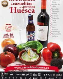 Certamen de cazuelitas de Huesca (del 6 al 16 de marzo)